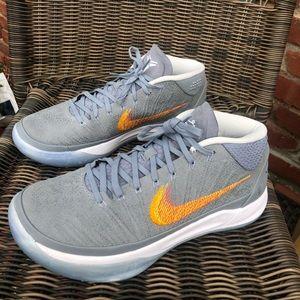 Nike Kobe AD Mid Grey Snake Men's Size 9.5